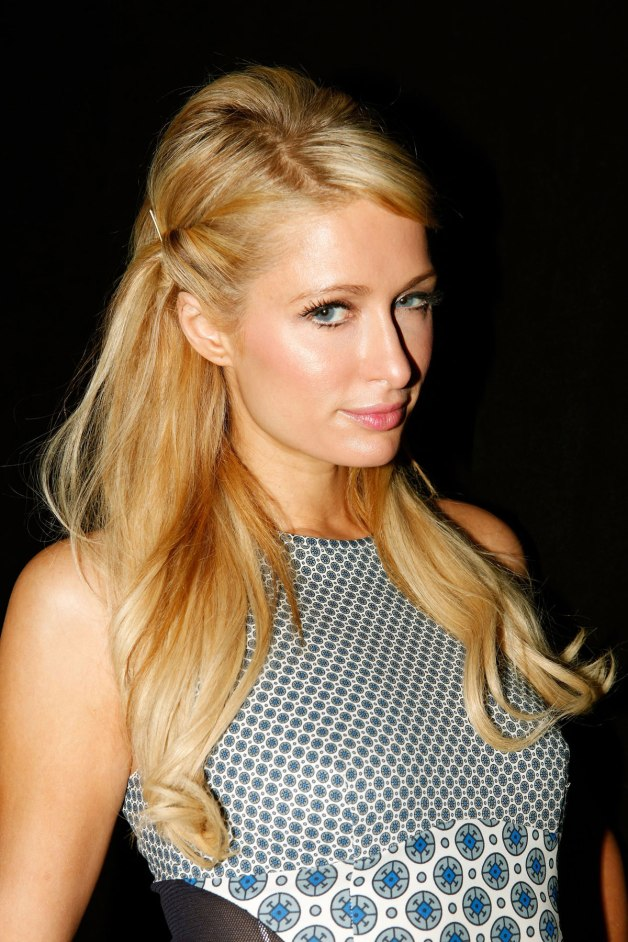 PARIS HILTON at Marlon Gobel Fashion Show