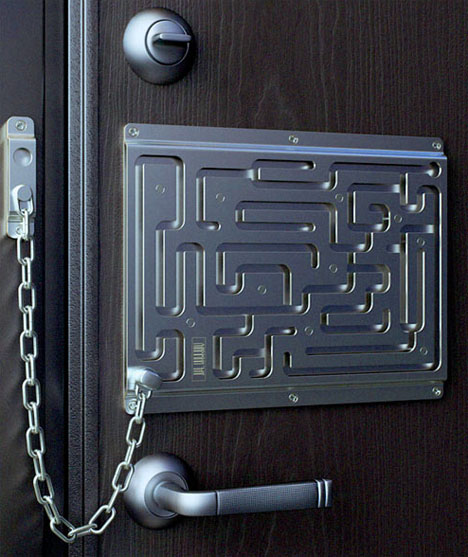 thief-proof-door-lock-design